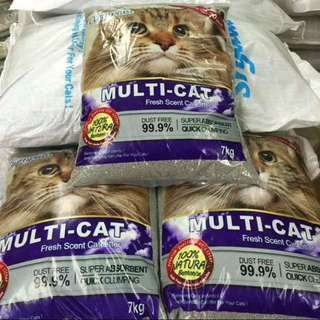 Cat Litter Multicat Clumplus