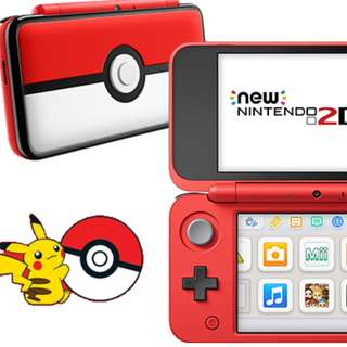 Modded New 2DS XL Nintendo (Pokeball edition)