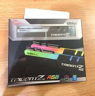 G.Skill Trident Z RGB 16GB(2x8GB) 3200MHz DDR4 RAM