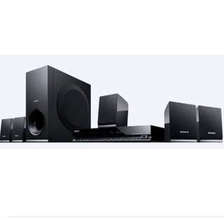 Sony DVD Home Theatre System DAV-TZ140 (New)