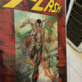 DC COMICS 3D FRONT COVER THE FLASH