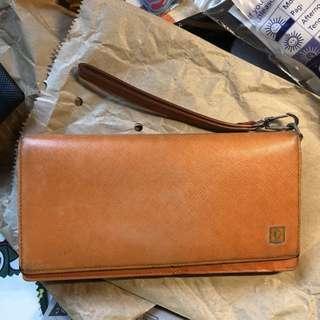 Used Guy Laroche Orange ladies wallet