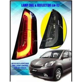 Perodua Myvi tailamp light bar