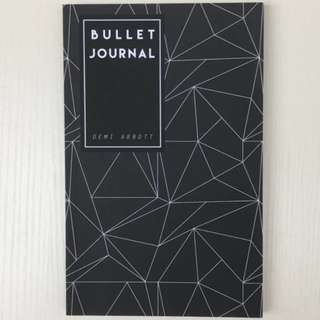 Bullet grid notebook (A5 size) Dot grid journaling Note taking Diary Dot grid Daily planner
