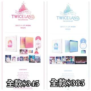 Twice 1st Tour TWICELAND - THE OPENING - BLURAY / DVD