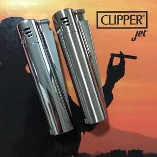 New Clipper Metal Jet Electronic Lighter