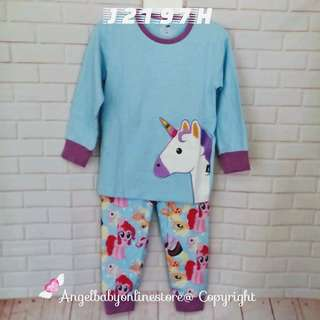 (Nett Price) My Little Pony Blue Sleepwear