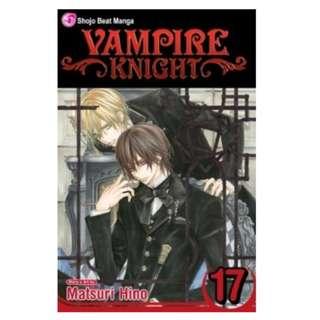 Vampire Knight Volume 17