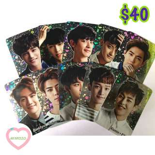 EXO yescard 124發 閃卡