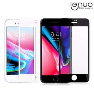 iPhone 8 / 7 專用LENUO CF全覆蓋玻璃膜 不碎屏鋼化膜 手機屏幕防爆保護貼Glass GSA3764A