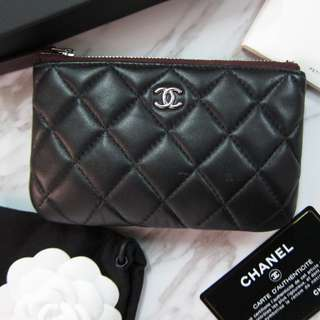 CHANEL lambskin coins bag