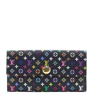 Authentic Louis Vuitton Sarah Multicolore Wallet