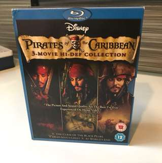 Pirates of The Carribean Collection