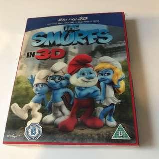 Smurfs (Blu-Ray 3D / Blu-Ray / DVD Combo)