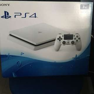 Sony Ps4 Slim Playstation 4 白色 冰河白 1TB 送一隻 Gta 5 碟