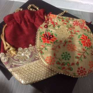 Indian Ethnic Clutch bags