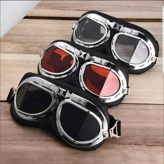 Goggles for Vintage Helmets