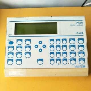 Radiometer Copenhagen Analytical Titralab TIM900 Titration Manager