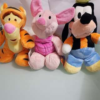 Winnie The Pooh and friends soft toy