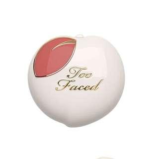 Authentic Too Faced Peach My Cheeks Blush