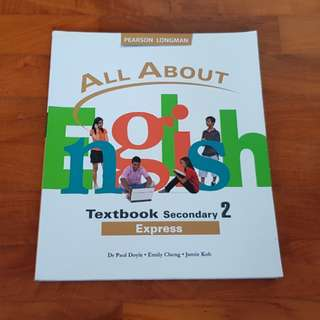 All About English Sec 2 Textbook