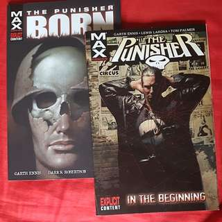 The Punisher Comic book series