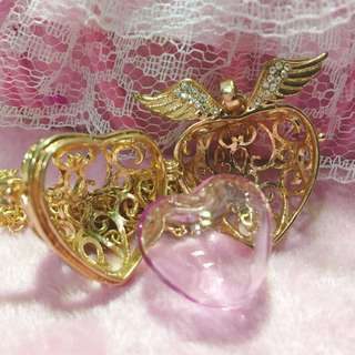 天使之心中長款香球頸鏈