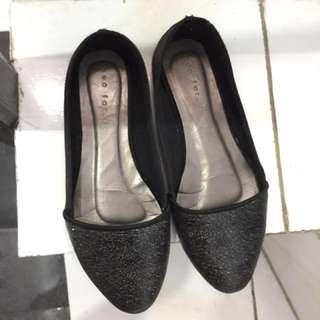 Neofarbe Flatshoes Black