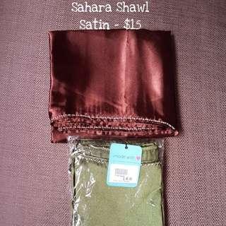 Sahara shawls
