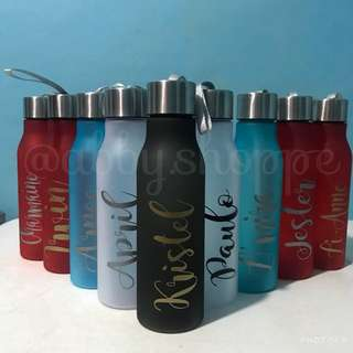 Personalized Frosted Tumblers