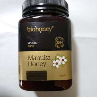 *現貨*.Biohoney 紐西蘭麥蘆卡蜂蜜MG300+ (500g)