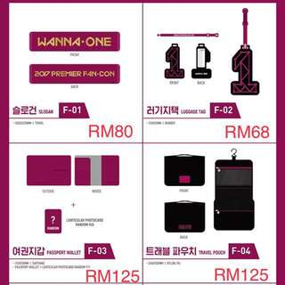 Wanna One Official MD and Fancon MD