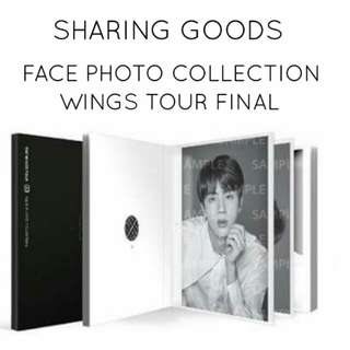 WTS [Loose Set] BTS  Face Photo Collection TWT Final Merch