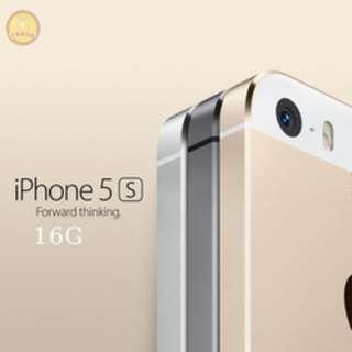 (限量4550元含運)蘋果 Apple iPhone5S 16G【福利品】全新盒裝