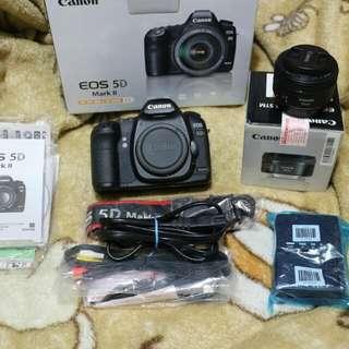 canon 5D mark ll lens 50mm f/1.8  STM