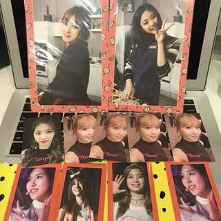 [CLEARANCE] TWICE THAILAND PHOTOCARDS / TV4 POSTCARDS