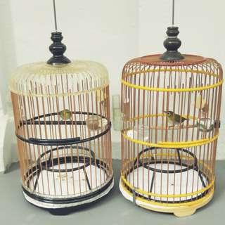 Mata Puteh Bird and Cage