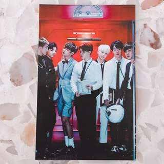 Bts group dope photocard