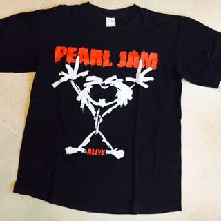 Pearl Jam Original T Shirt Vintage Great Condition!!