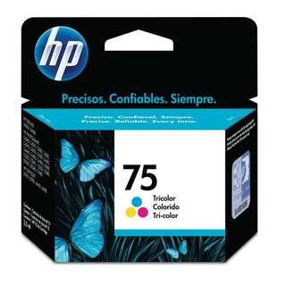 HP 75CL orig ink cartridge 原裝墨盒