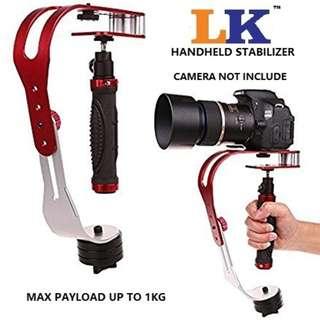 LK Handheld Aluminum Alloy Stabilizer Steadicam For DSLR Camera Max Pa