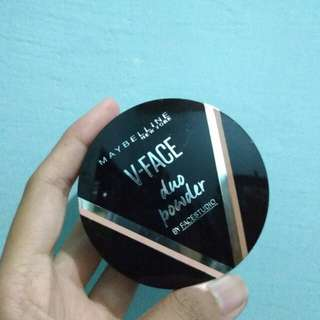 Maybelline V-Face Duo Powder Medium Dark
