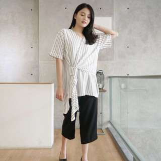 Gemala Stripes blouse