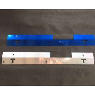 SARD  racing radiator cooling plate  Subaru Version 7, 8 & 9 aluminum   anodized BLUE color model 40618