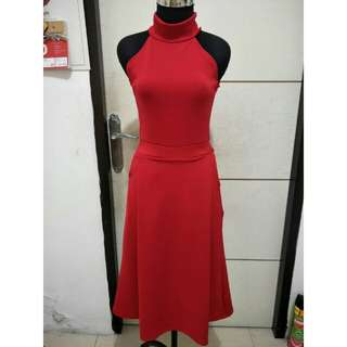 SALEE !! Dress merah dresss natal dress cny