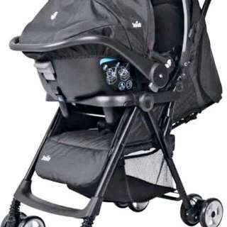 Pre-loved Joie Stroller and Car Seat
