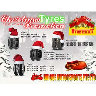 Pirelli Tyres from $90 onwards