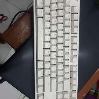 Keyboard Mechanic Ducky one TKL ( blue switch) MULUS jarang pake karena merantau