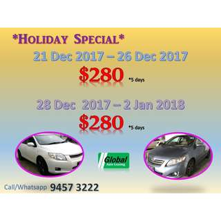 Holiday Special 5 days Package