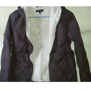 Uniqlo Brown Fleece 女裝深啡色開襟毛衣外套 (現售$299)